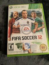 XBox 360 EA Sports FIFA Soccer 12 Disc & Case No Manual