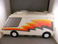 Vtg Galoob Micro Machines 1991 Super City RV Van Fold Out Carry Case Playset