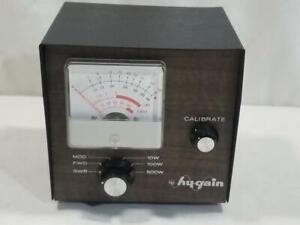 Vintage Hy-Gain Model 421 CB Power Meter