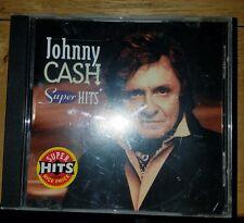 Super Hits by Johnny Cash (CD, Nov-1994, Columbia (USA))