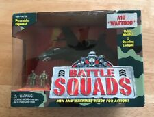 1997 Battle Squads By Galoob A10 Warthog Featuring Pilot And Mechanic New In Box