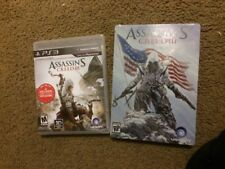 Assassin's Creed III PlayStation 3 PS3 Brand New Plus Steel Pre Order Box Sealed