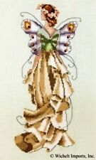 "CMPLTE XSTITCH MATERIALS ""VIOLET"" NC112"" Pixie Couture Collectio by Nora Corbett"
