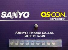 10pcs Oscon Sanyo SMD OS-CON 330µF/10V