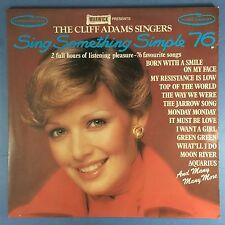The Cliff Adams Singers - Sing Something Simple 76 - Warwick WW-5017/17 Ex