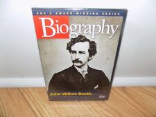 Biography: John Wilkes Booth (DVD, 2005) A&E - BRAND NEW, SEALED