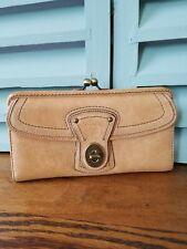 Coach 65th Anniversary Legacy Gigi Natural Vachetta Leather Wallet