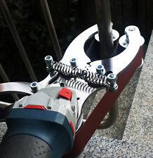 360° Rohrschleifer Rohrbandschleifer Satiniermaschine Anbausatz wie NEU