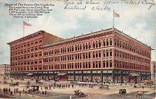 Colorado postcard Denver, The Denver Dry Goods Co. department store ca 1910
