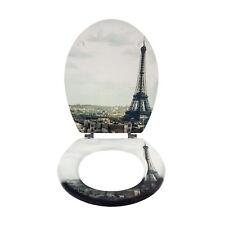 WC-Sitz Paris Holzkern Toilettenbrille Toilettendeckel toilet seat Klodeckel