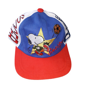 Snoopy and friends soccer baseball cap new with tags by best collection inc