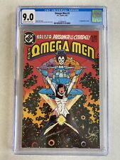 Omega Men 3 CGC 9.0 First LOBO