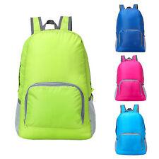Sport Waterproof Foldable Backpack Hiking Shoulder Bag Camping Rucksack Day Pack