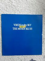 THE MOODY BLUES 'VOICES IN THE SKY - THE BEST OF' UK LP Excellent vinyl