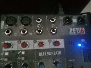 Allen & Heath Zed-6 Mischpult Analog Mixer