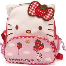 Cute Hello Kitty Girls Kids Canvas Rucksack Backpack School Bag Schoolbag