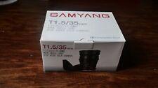 Samyang T1.5 35mm AS UMC Sony A-mount Cine Lens