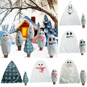 Christmas Outdoor Tree Bag Garden Plants Protection Cover Xmas Decoration Party