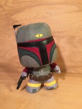 "FUNKO FABRICATIONS - Star Wars Bounty Hunter ""Boba Fett"" plush figure 6 inches"
