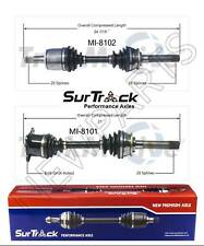 For Mitsubishi Montero Mighty Max 4WD 2 Front CV Axle Shaft Assies SurTrack Set