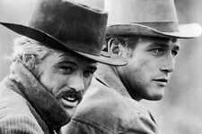 Butch Cassidy And The Sundance Kid B&W Vintage Movie Poster Print 24x36 9 Mil
