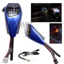 Pomo automático Joystick color azul con iluminación led para Bmw E90 E91