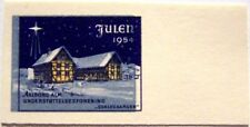 Denmark - Error stamp Julen 1954 Aalborg, shifted print