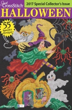 Just Cross Stitch Magazine 2016 Special Halloween Issue 57 Spooky Designs