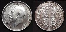 ROYAUME-UNI - HALF CROWN 1914 - ROI GEORGE V - Argent