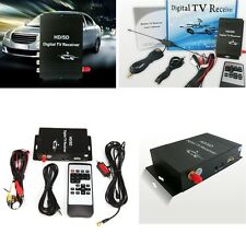 ATSC-MH Car Mobile Digital TV Receiver Turner Box 4 Video 2 Audio Output for US