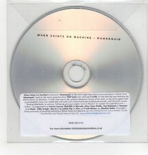 (GH310) When Saints Go Machine - Mannequin - 2013 DJ CD