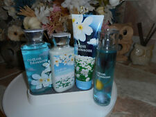 Bath & Body Works Cotton Blossom, 4 Pc. Set with Fragrance Mist