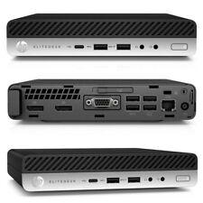 HP Business ProDesk 600 G4 Desktop Computer i5-8500T 8GB 256GB SSD Win10 Pro