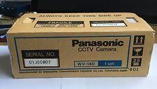 Vintage Panasonic CCTV Camera WV-BP140 - Brand New Made in Japan NOS