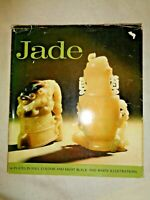 1967 Spring Art Books JADE by J.P. Palmer Carving Sculpture Jadeite China Spears
