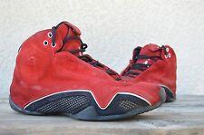 2006 Nike Air Jordan XXI 21 Italian Red Suede Ferrari Toro 4 5 14 Size 9 RARE