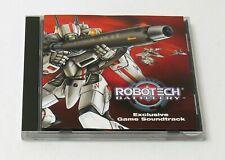 Robotech Battlecry Video Game Soundtrack Score Cd 2002 Anime Japan Vg Cond.