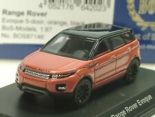 BOS Land Rover Evoque Orange Métallisé - 87146 - 1:87