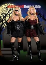 Halloween Costume Reversible Twice Bitten Adult Women Large
