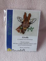 MOUSELOFT STITCHLETS CROSS STITCH KIT ~ GIRAFFE ~ NEW