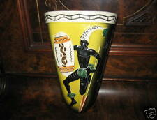 Australian Art Ceramic Aboriginal Pattern Wall Vase (B)