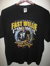 Willie Parker Pittsburgh Pennsylvania Steelers USA Football Team 2005 T Shirt XL