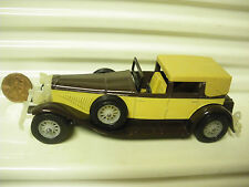 LESNEY MATCHBOX MODELS OF YESTERYEAR 1930 Y4 DUESENBERG CLEAR 12spWHLS +BUMPERS*