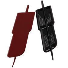 2X Car Auto Decorative Air Flow Hood Fender Side Vent Cover Black