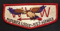 MERGED OA PUPUKEA LODGE 557 HI 454 565 567 ALOHA COUNCIL HAWAII BSA pre-fdl FLAP