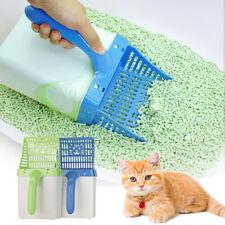 Cat Litter Scooper Pet Sand Shovel Clean Tool Easy Sift Box&Scoop&10 Garbage Bag