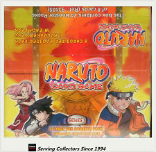 Naruto Series 1 Card Game Booster Box (24 pks)- 2006 Bandai (Belgium, EU Edi)