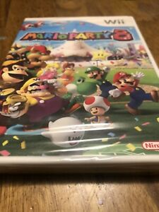 Mario Party 8 Nintendo Wii Brand New Sealed Clean Minor Separation