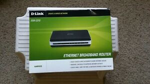 Brand New D-Link EBR-2310 4-Port 10/100 Wired Router