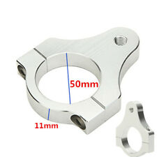 Motorcycle 50mm Aluminium Steering Damper Fork Frame Mounting Clamp Bracket CNC